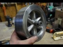 Casting an Aluminium Flywheel Using Lost Foam Method and CNC Routed Foam
