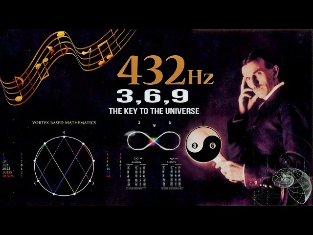 432 Hz – Unlocking The Magnificence Of The 3 6 9, The Key To The Universe (without music)