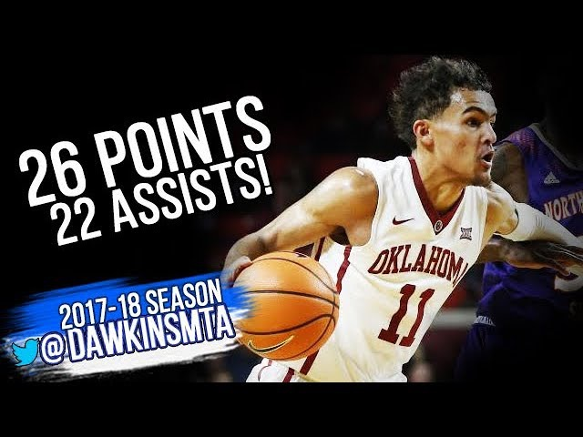 Trae Young UNREAL 26 Pts 22 Assists 2017 12 19 vs Northwestern State The Next Steph Curry HQ