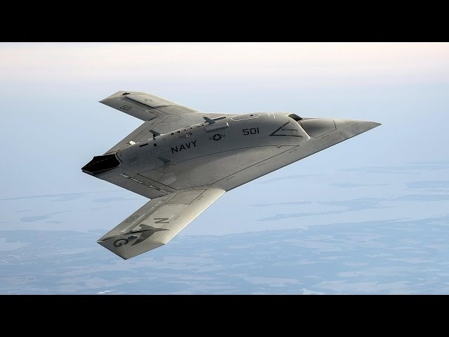 X-47B Unmanned Combat Air Systems (UCAS)
