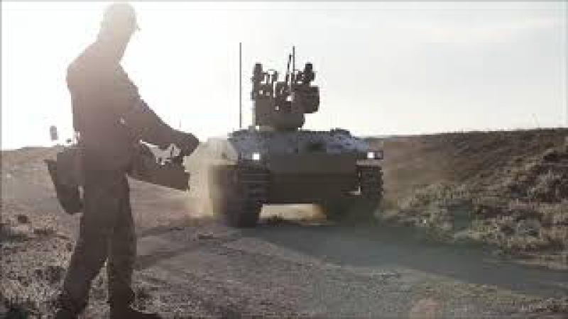 UCGV 'Soratnik' The future of the land warfare. Робот Соратник
