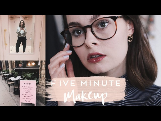 Literal Five Minute Makeup Lucy Moon