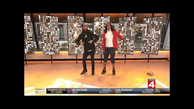Les Twins - WOD Winners LIVE To
