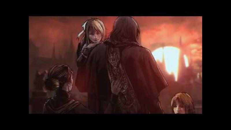 Illustrated Lore Bloodborne Father Gascoigne