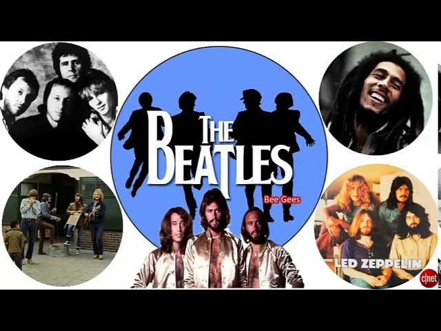 Creedence Clearwater Revival,Dire Straits,Led Zeppelin,The Beatles :Greatest Hits Classic Rock Song