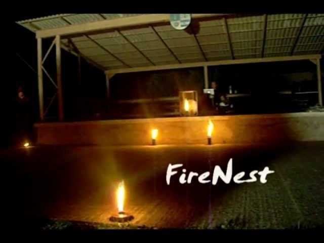 FireNest performs at the Firebirds camp Hungary