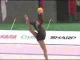 Алина Кабаева - мяч // Aeon Cup 2002