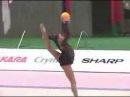 Алина Кабаева - мяч Aeon Cup 2002