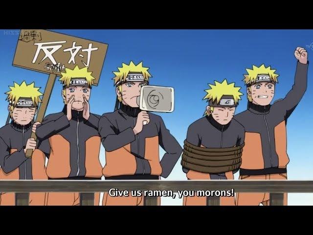 Naruto's Shadow Clones Take Naruto Hostage and Go On Strike | English Sub
