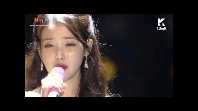 IU - Through The Night Dear Name (Melon Music Awards 2017)
