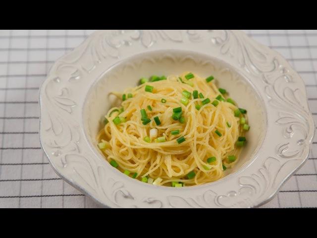 Паста капеллини с трюфельным соусом (Capellini alla Salsa di Tartufo)