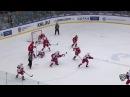Моменты из матчей КХЛ сезона 16 17 Интересный момент Выяснение отношений на пятаке 20 11