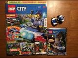 Обзор нового журнала Lego City 2018 года #1 Рейнджер И Квадроцикл