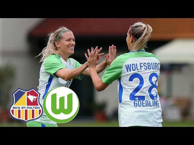 SKN St. Pölten - VfL Wolfsburg
