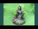 DIY Hot glue waterfall updated Miniature craft Lets make Art