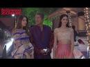 Beautiful Ananya Pandey with father Chunkey Pandey and mother Bhavna Pandey at rajkundra diwali 2017