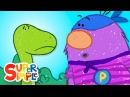 The Dinosaur Rescue   Captain Monsterica And The Purple Protector
