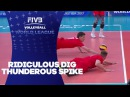 Ridiculous Dig, Thunderous Spike