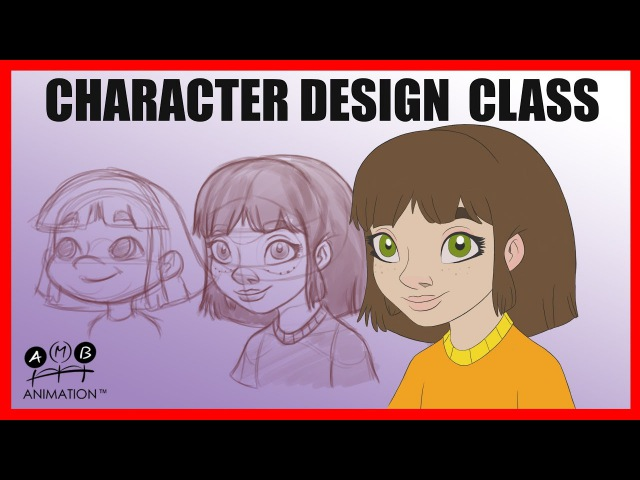 Character Design Class - How to Draw in a professional style