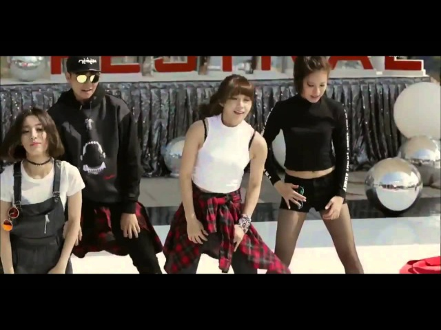 Ost sassy go go cheer up! dance eunji