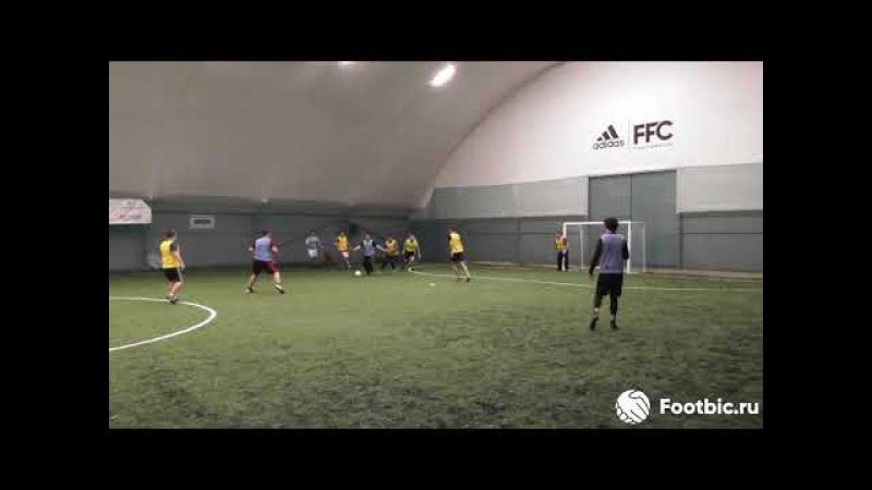 FOOTBIC.RU. Видеообзор 20.10.2017 (Метро Марьина Роща). Любительский футбол