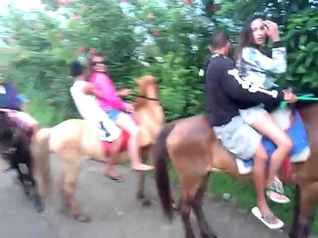 Horseback raining part 2 @ Tagaytay