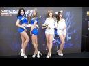 2017 G Star 지스타 모델 김지희 김효진 김라영 송주아 직캠 1 by bongDDak