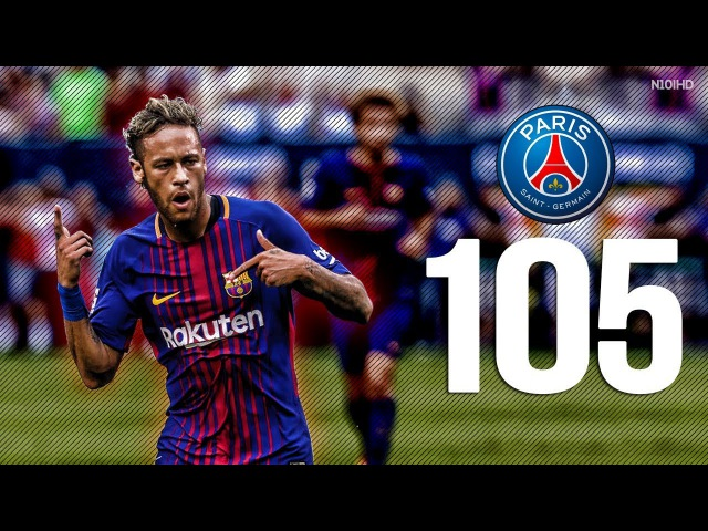 Neymar Jr - All 105 Goals for FC Barcelona ● Before He Moved to PSG