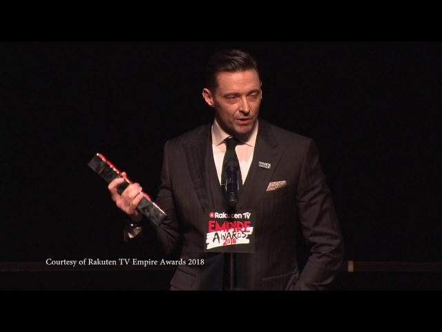 Best Actor - Hugh Jackman, 2018 Rakuten TV Empire Awards