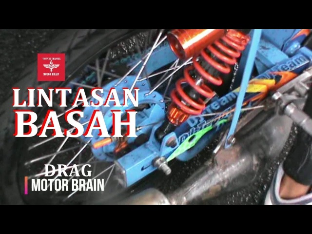 LINTASAN Balap LICIN Tetap GAS | VIDEO DRAG BIKE