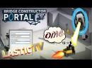 Bridge Constructor Portal 2 ТУРЕЛЬ ИЗ АДА