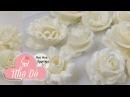 HỌC LÀM HOA KEM ĐƠN GIẢN ĐẸP 01 flower learn FRESH MILK CREAM 01