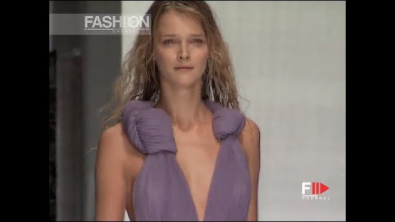 GIANFRANCO FERRÉ Spring Summer 2008 Milan - Fashion Channel
