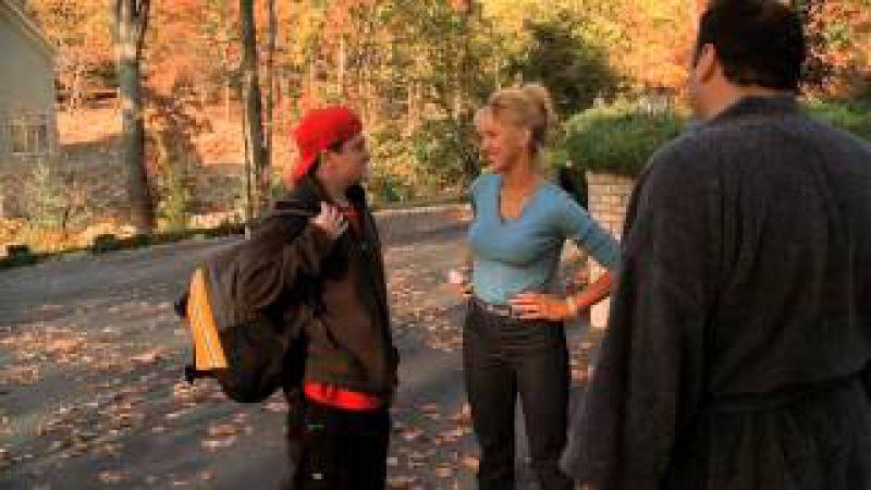 The Sopranos - Carmela throws a phone at Tony