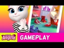 Shoe Collection in My Talking Angela (Gameplay)