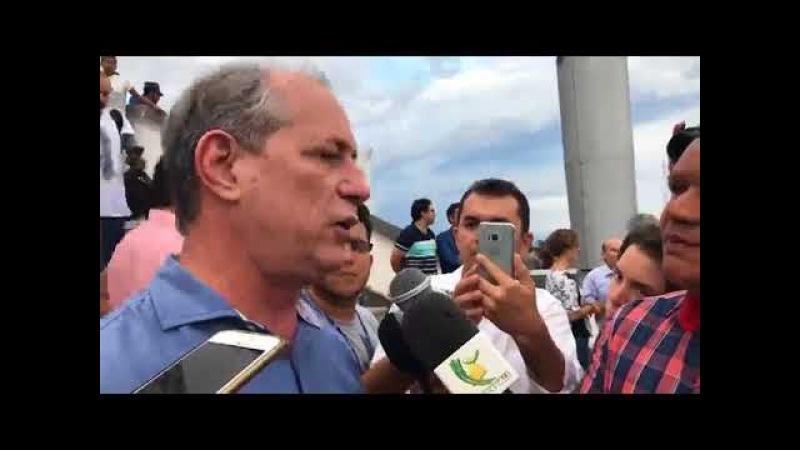 Ciro diplomático: eu e Lula temos um encontro marcado no segundo turno