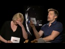 Nikolaj Coster Jaime Lannister Cant read and other funny moments with Gwendoline Christie.