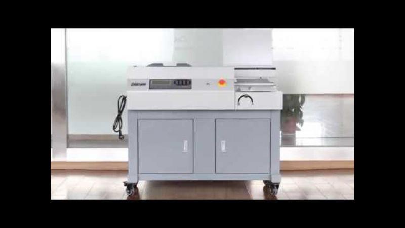 LD 500 Automatic Glue Binding Machine Electric Perfect Binder Book Binding Machine