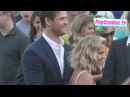 Chris Hemsworth Elsa Pataky arrive at Vacation Premiere in Westwood