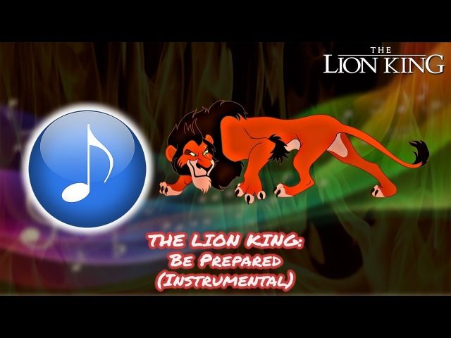 The Lion King ‒ Be Prepared {Instrumental}