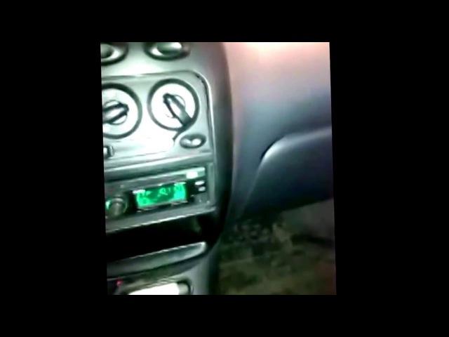Daewoo Matiz - Замена кнопки обогрева заднего стекла