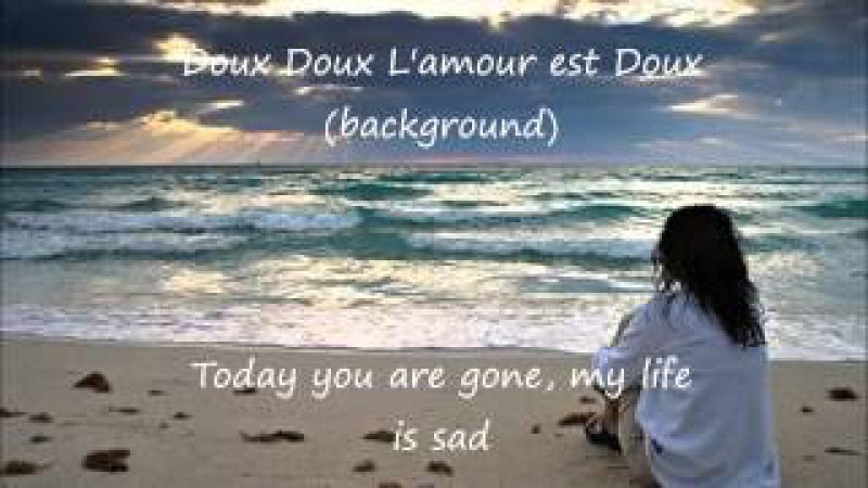 L'amour est bleu - Claudine Longet/ Love is blue with English translation lyrics