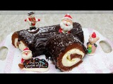 Cách Làm Bánh Khúc Gỗ Giáng Sinh - Thư Cua Cà Mau