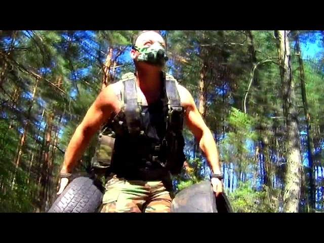 OUTDOOR TRAINING IN MASK TACTICAL