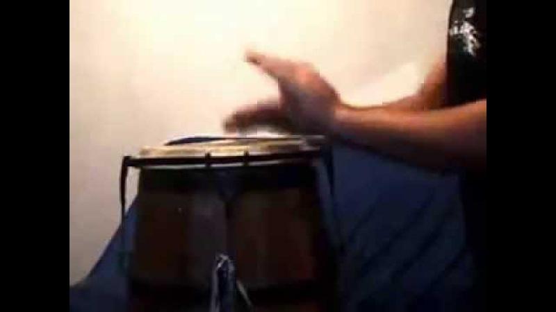 Solo de Atabaque - Toque tradicional - Patrick Baker