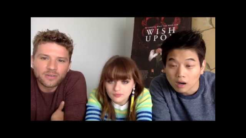 Wish Upon Stars: Ryan Phillippe, Joey King Ki Hong Lee (Facebook Live Chat)