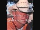 Kenny Chesney - when i close my eyes lyrics