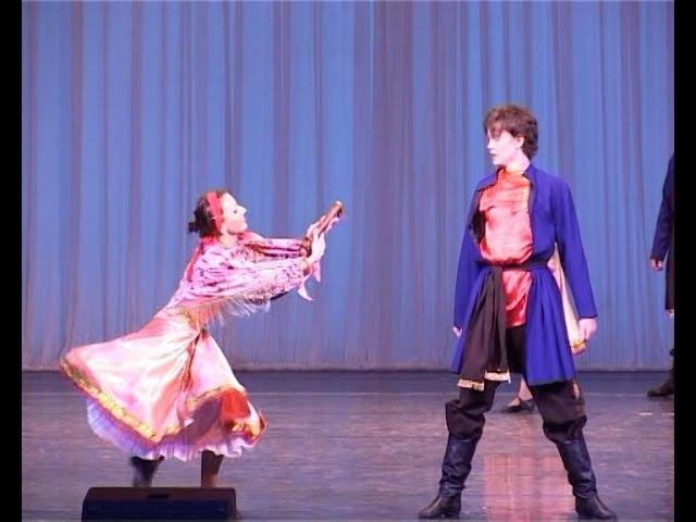 Русский народный танец «Ямщики»