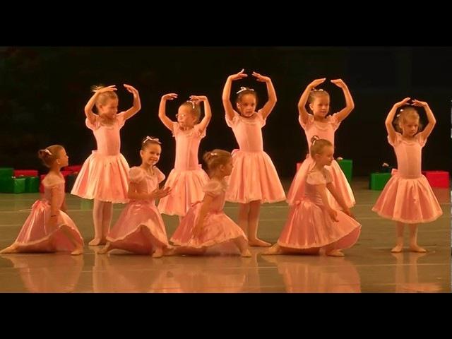 Nerijaus Juškos baleto mokykla - Kalėdų pasaka 2016 I dalis