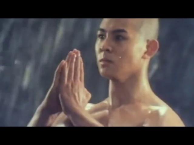 Джет Ли на тренировке по Кунг фу Jet Li Train Kung fu